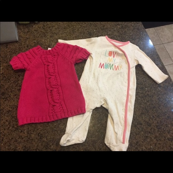 d05f31bf5 Old Navy One Pieces | Two 36 Mo Baby Girl Outfits | Poshmark